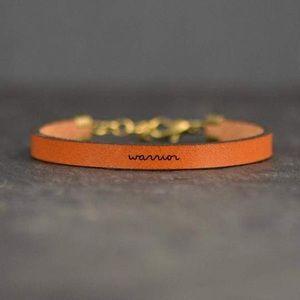 Warrior - Leather Bracelet